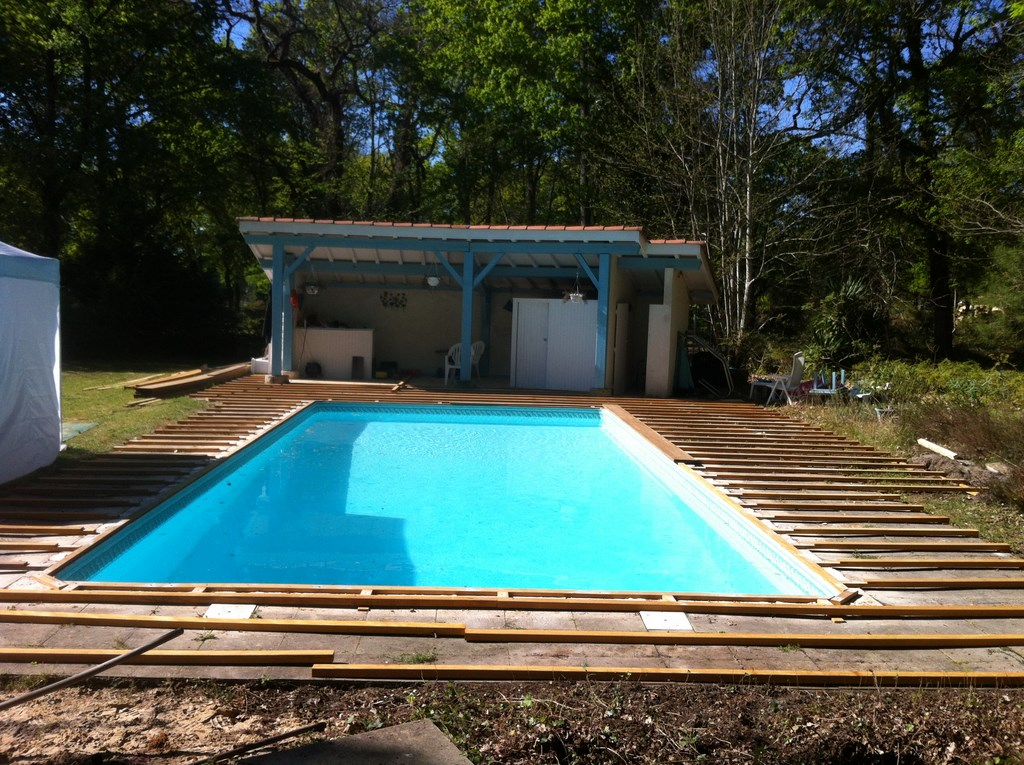 Realisations for Terrasse pour piscine