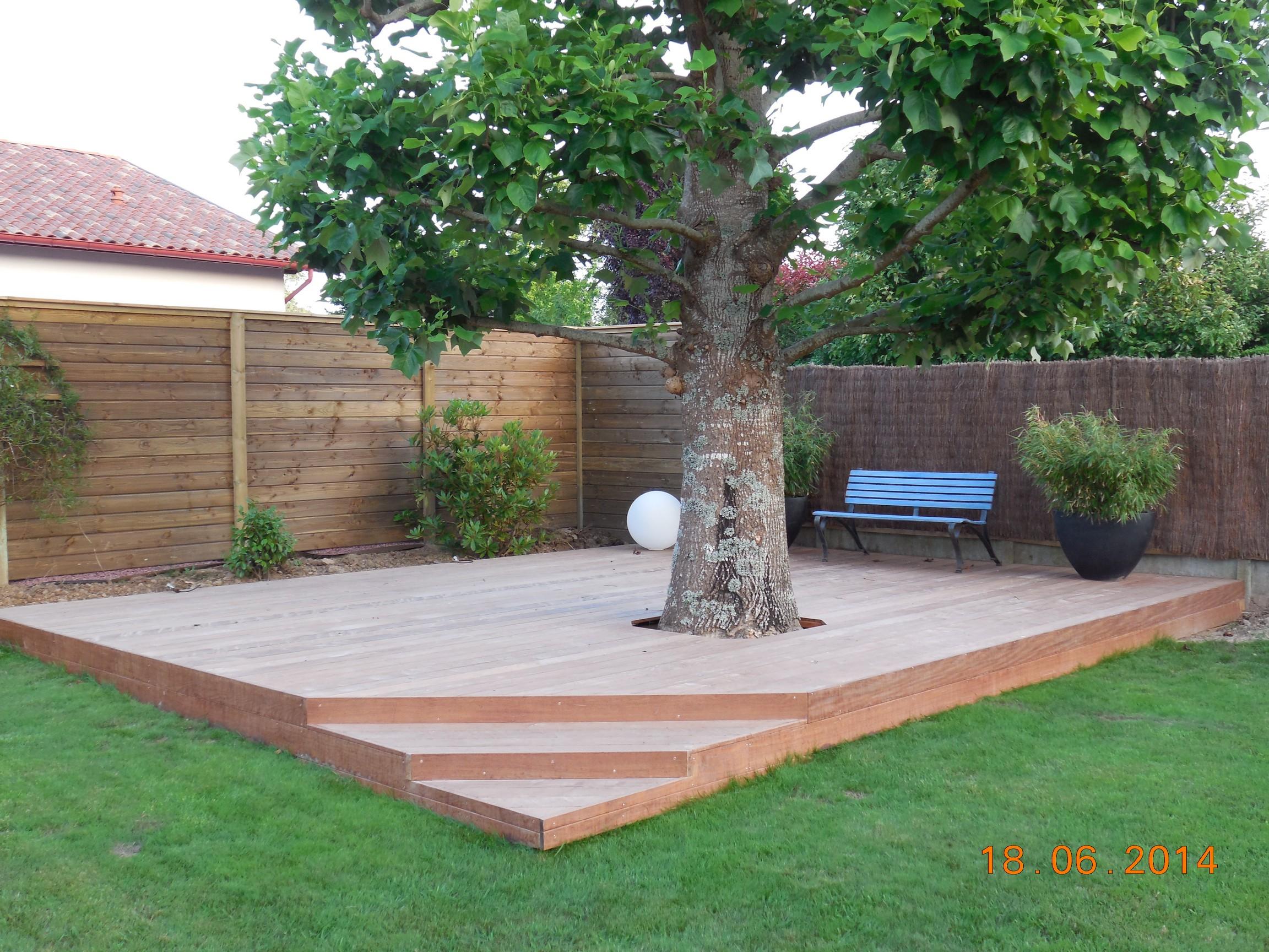 terrasse bois eclairage. Black Bedroom Furniture Sets. Home Design Ideas