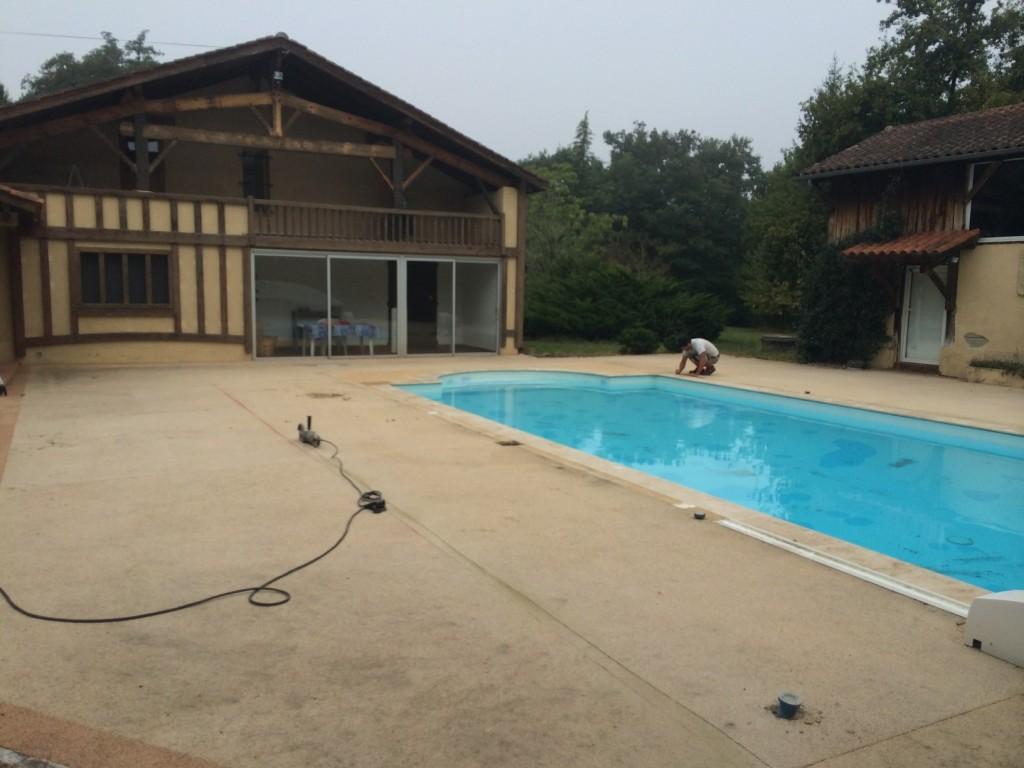 Terrasse en ipe mont de marsan 40 plage piscine for Construction piscine mont de marsan
