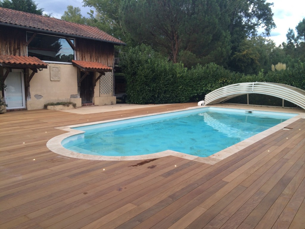 terrasse en ipe mont de marsan 40 plage piscine. Black Bedroom Furniture Sets. Home Design Ideas