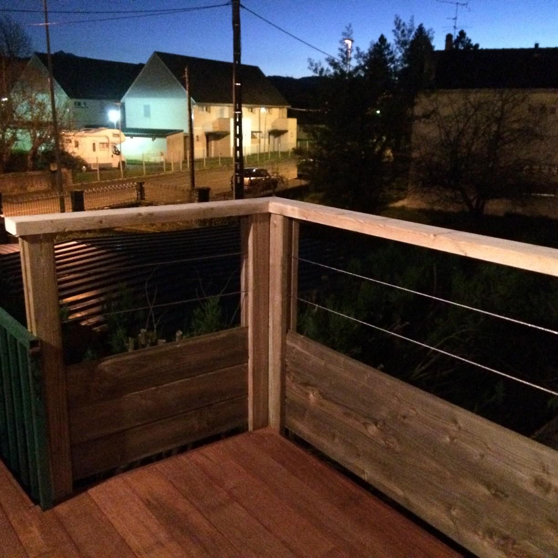 terrasse en merbau balcon extension oloron 64 paysabois bois terrasse landes. Black Bedroom Furniture Sets. Home Design Ideas