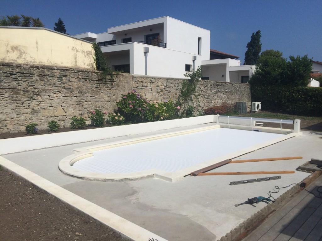 Terrasse en ipe sur biarritz 64 plage piscine for Construction piscine 64