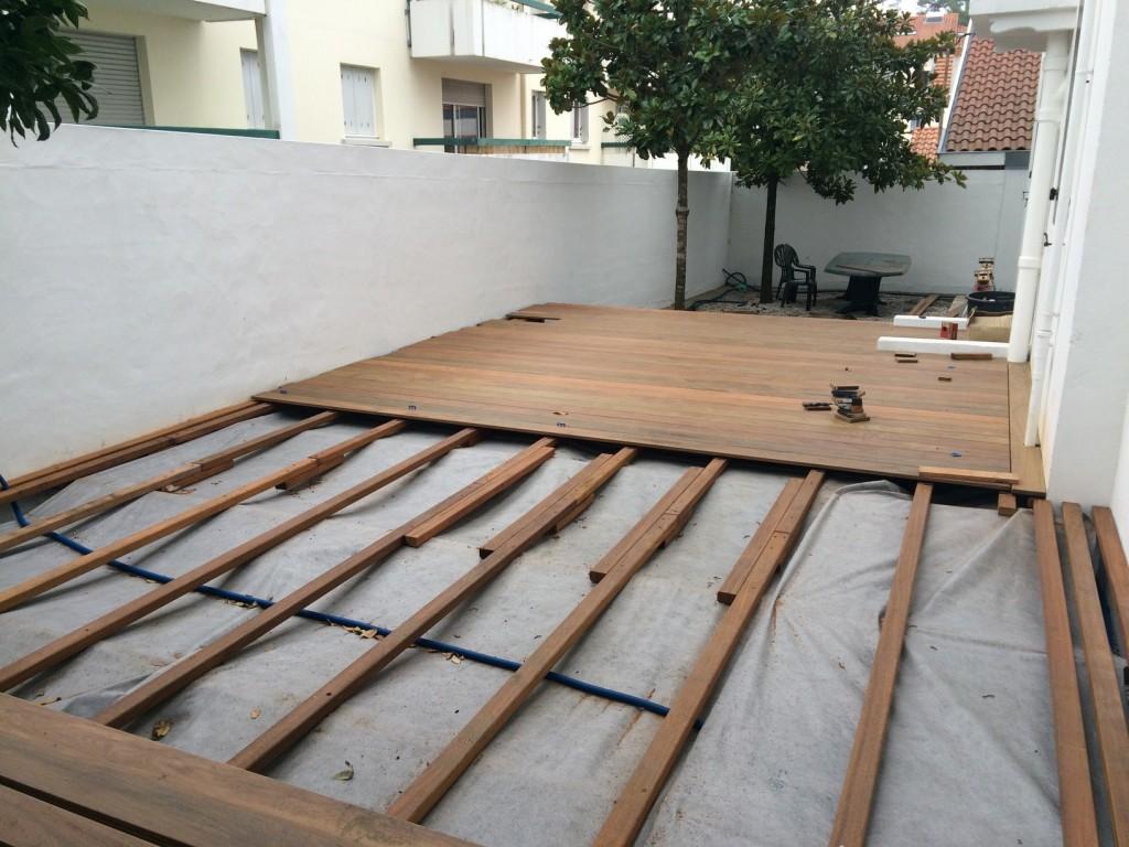 terrasse en ipe biarritz 64 syst me de fixation invisible happax. Black Bedroom Furniture Sets. Home Design Ideas