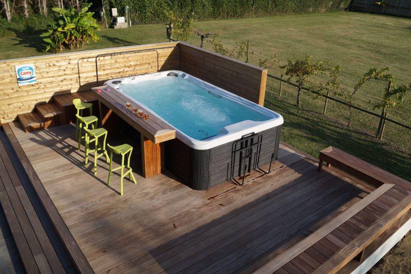 pose et réalisation d'une terrasse en bois noble comme l'ipé